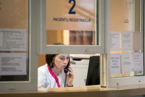 Gripo epidemijos metu pailgintas sostinės poliklinikų darbo laikas