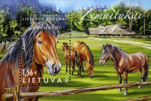 Pašto ženklas primins saugotiną žemaitukų arklių veislę