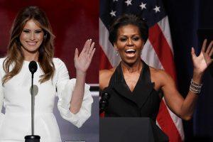 Skandalas: D. Trumpo žmona nuplagijavo kalbą nuo pačios M. Obamos