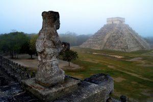 Meksikiečių ekspertai Kukulkano piramidės viduje atrado pradinį statinį