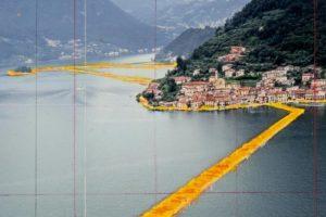 Naujausias italų menininko kūrinys suteikia galimybę vaikščioti vandeniu