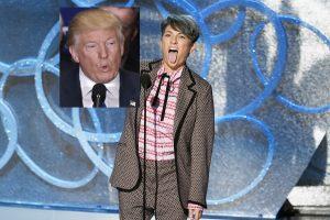 """JAV prezidento rinkimų atgarsiai """"Emmy"""": Hitleris ir Maliarija"""