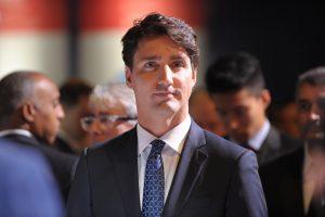 Pasirašyti CETA sutarties Kanados premjerą skraidinęs lėktuvas sugedo