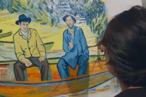 Šimtas dailininkų kuria unikalų animacinį filmą V. van Gogho stiliumi
