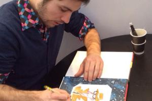 Komiksų gerbėjams – kūrybinės dirbtuvės su prancūzų iliustruotoju