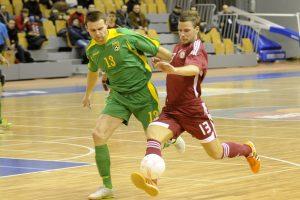 Bus siekiama Lietuvoje surengti pasaulio salės futbolo čempionatą