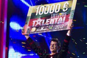 """Pergalė """"Lietuvos talentuose"""" sutvirtino žavaus žonglieriaus įžadus cirkui"""