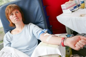 SOS: beveik visiškai išseko antros kraujo grupės rezervas