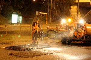 Vilniuje šiemet bus asfaltuota beveik 40 kilometrų gatvių