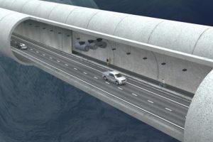 Norvegija žada pastatyti pirmąjį pasaulyje povandeninį tunelį