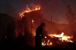 Per gaisrus Šilutės ir Šakių rajonuose nukentėjo du žmonės