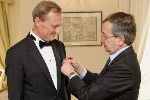 G. Kėvišui suteiktas Italijos Žvaigždės ordino Karininko laipsnis