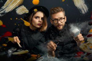 A. Ivanauskas ir J. Vaitkutė kurs pasaulį, vienijantį maistą ir meną