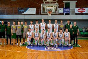 Antrose kontrolinėse varžybose baltarusiai Lietuvos 20–mečius krepšininkus pašodino