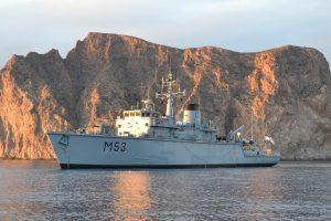 Lietuvos karinis laivas pradėjo budėjimą NATO Greitojo reagavimo pajėgose