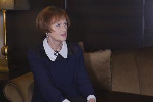 Mintį ištekėti palaidojusi L. Lapkauskaitė: labai bijau senatvės