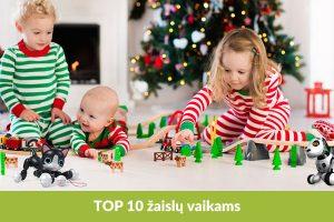Kalėdinių dovanų vaikams TOP 10