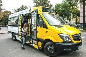 Maršrutiniai taksi keičia kauniečių įpročius