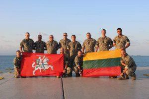 Iš tarptautinės operacijos grįžę kariai bus apdovanoti medaliais