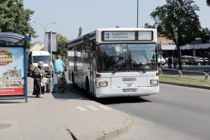 Į autobusą – nemokamai, bet tik vieną dieną