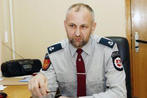 Iš policijos – į seniūno kėdę