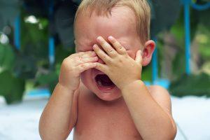 Dėl vaiko verksmo – pareigūnų vizitas