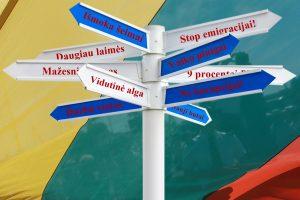 Naujojo Seimo politinių pažadų kryžkelės