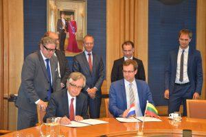 Pritaikys Nyderlandų patirtį kuriant SGD centrą Baltijos regione