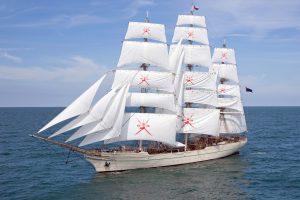 """Egzotiškos šalies burlaivis papuoš """"The Tall Ships Races 2017"""" lenktynių laivyną"""