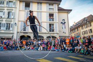 Palangos botanikos parkas atveria vartus tarptautiniam cirko festivaliui