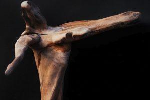 Jūros dovanos neringiškio rankose virto skulptūromis