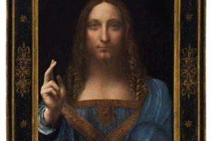Da Vinci paveikslas bus parduodamas aukcione