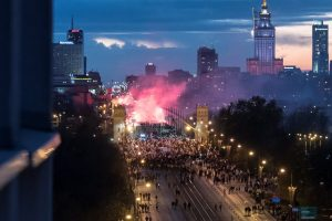 Lenkija griežtai smerkia rasizmą, bet teisina demonstraciją