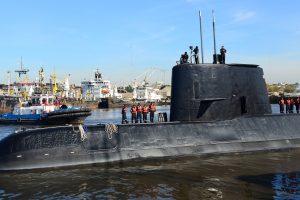 Praėjus metams po dingimo Argentinoje aptiktas povandeninis laivas