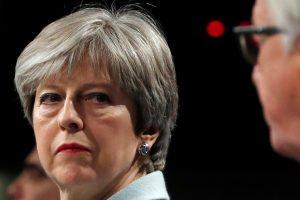 """Th. May: """"Brexit"""" derybose – naujas optimizmo jausmas"""