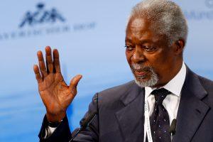 Mirė buvęs JT vadovas K. Annanas (atnaujinta)