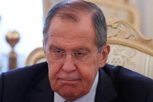 S. Lavrovas: rusakalbių padėtis Baltijos šalyse ir Ukrainoje blogėja