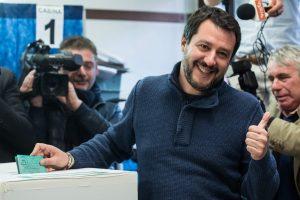Italijos ultradešiniųjų lyderis neslepia ambicijų siekti premjero posto