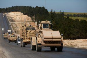D. Trumpas nori, kad JAV kariai išeitų iš Sirijos