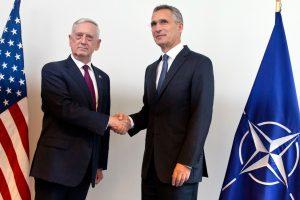NATO gynybos ministrų susitikime svarstomas Rusijos atgrasymas