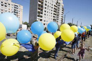 Ukrainoje – siūlymas konstitucijoje įtvirtinti euroatlantinius siekius