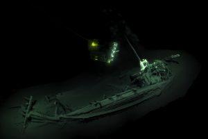 Rastos seniausio pasaulyje puikiai išsilaikiusio laivo liekanos