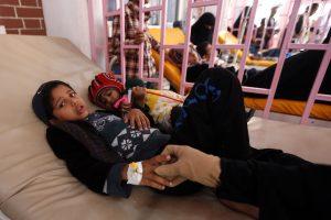 Jemene įtariamų choleros atvejų skaičius išaugo iki milijono