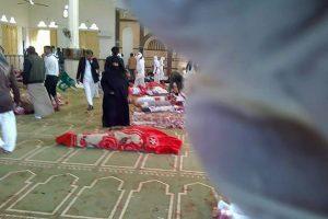 Egipte per išpuolį mečetėje žuvo daugiau nei 200 žmonių