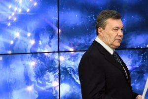 V. Janukovyčius neigia, kad 2014-aisiais prašė Rusijos įvesti karius į Ukrainą