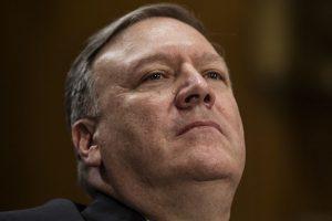 JAV Senato komitetas pritarė M. Pompeo kandidatūrai į valstybės sekretorius