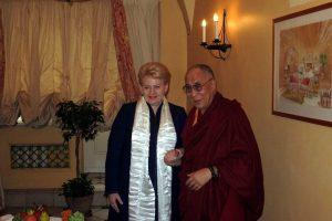 Šalies vadovai susitikti su Dalai Lama neplanuoja