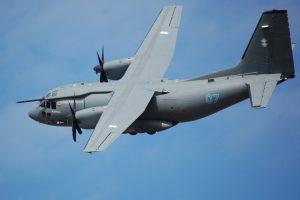 Gedimą patyręs kariuomenės lėktuvas sėkmingai grįžo į Lietuvą