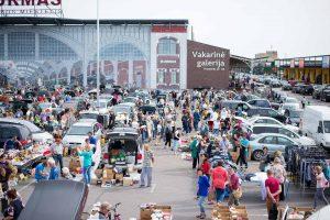 Išpopuliarėjęs Bagažinių turgus nebesutalpino visų norinčiųjų dalyvauti
