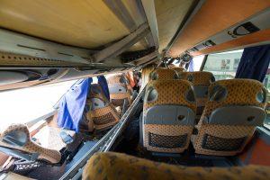 Ukraina: Lenkijos autobuso sprogdinimas prie Lvovo yra provokacija